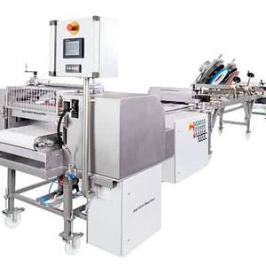 Dosing roller machine Typ DDWO with Distributor unit Type VE400